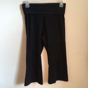 Hardtail Crop Fold Over Yoga Pants